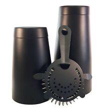 Nero opaco Pro Boston cocktail shaker 793,8gram metallo, nero opaco (X2U)
