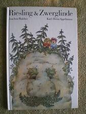 Riesling und Zwerglinde DDR Kinderbuch Bilderbuch Bilder Karl-Heinz Appelmann