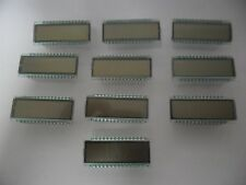 10x GTK Optoelectronics LCD Glass Display GTK-844TR6N2 6 Digits GAL CUFT. M^3