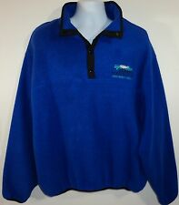 Polartec Mens XL Blue Fleece Jacket Jerry's Rogue Jets Gold Beach Oregon USA