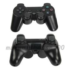 2X New Black Wireless Shock Game Controller for Sony PS2 UK
