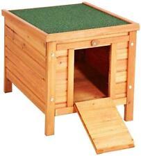 Bunny Business Rabbit Guinea Pig Hide House Run Hutch 42 X 43 X 51cm - DFR043