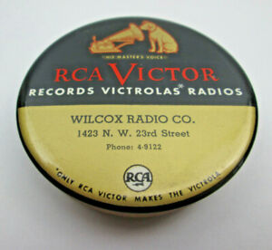 Wilcox Radio Co., 1423 NW 23rd Stree Vintage Record Cleaner RCA Victor Victrolaa