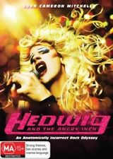 Hedwig And The Angry Inch DVD-TRANSEXUAL ROCK LEGEND - REGION 4