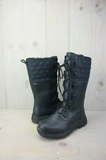 UGG ATLASON BLACK TALL  ALL  WEATHER WOMENS BOOTS US 7 NEW