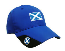 SoftMark Golf Cap - Blue -Scotland by Asbri Golf with Ball Marker magnetic