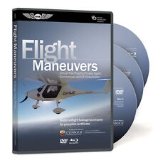 Virtual Test Prep - Flight Manuevers Video DVD & Blu-Ray Disks ASA-VTP-FLIGHT