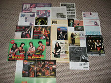 FIREWIND GUS G Rare Collection 33 Pages Clippings