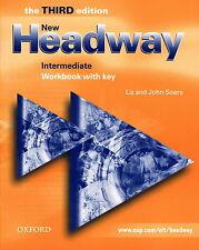 Oxford NEW HEADWAY Intermediate THIRD EDITION Workbook w Key | L & J Soars @NEW@