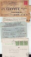 1928/50  2 x CANAL ZONE COVERS 1 MEDICAL SUPPLIES ORDER