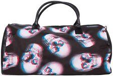 Iron Fist Extra Large Black Skull of Doom Duffle Hand/Shoulder Bag (Goth,Skull)