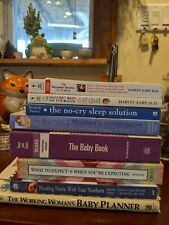 Baby Books Pregnancy and Child Care Lot, Karp, Huggins, Murkoff