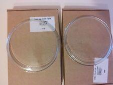 BMW 5 Series E34 7 Series E32 High Beam CLEAR Headlight Glass PAIR (Left +Right)