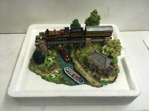 """Danbury Mint Country Lines Collection """"The River Crossing"""" No. 10190 Sculpture"""
