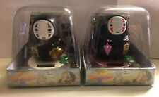 Set of 2 Spirited Away No-Face Man Kaonashi Solar Figure Gift Anime
