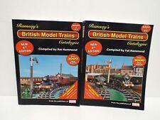 RAMSAY'S BRITISH MODEL TRAINS VOL-1 & VOL-2 PRICE GUIDE EXCELLENT (B28)