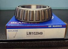 BRAND NEW ABI WHEEL BEARING LM102949 FITS VEHICLES LISTED ON CHART
