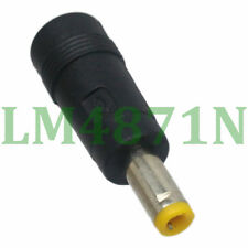 2pcs Adapter 5.5x2.5mm male to 5.5x2.1mm female DC power connector Converter