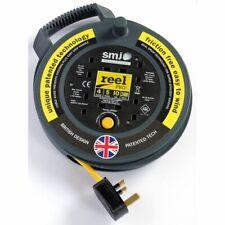 SMJ REEL PRO 4 SOCKET 10 AMP CABLE REEL 5 METERS