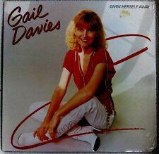Gail Davies Givin' Herself Away 1982 Warner Bros #BSK 3636 COUNTRY POP Sealed LP