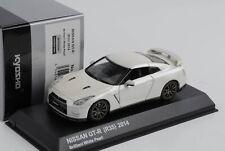 Nissan Gt-R R35 Brillante Blanco Perla 2014 1:43 Kyosho