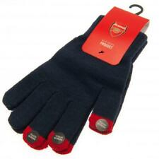 Arsenal FC Official Crested Knitted Gloves Size Adult Unisex The Gunners