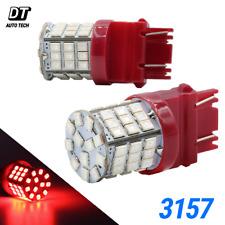 3157 LED Brake Light Bulbs Red Tail Stop High Power Lamp Pair