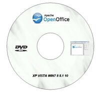 OPEN OFFICE PRO EDITION FOR MICROSOFT WINDOWS IDEAL FOR HOME OR STUDENT DVD
