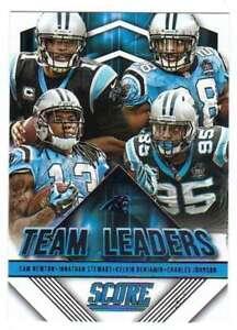 2015 Panini Score Football Team Leaders #21  Carolina Panthers