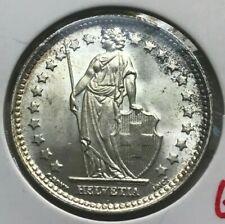 1944 Switzerland 1 One Franc - Gem Uncirculated