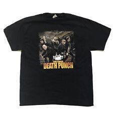 Five Finger Death Punch, Shinedown, Sixx AM 2016 Tour T-Shirt Size XL