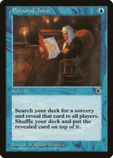 MTG X1: Personal Tutor, Portal, R, Moderate Play - FREE US SHIPPING!