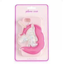 NEW Unicorn Glitter Silicone Pink Phone Case Stylish New Girly iPhone 6 6s 7 8