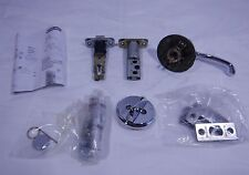 Schlage Flair Interior Single cylinder RightHanded Lever with Deadbolt Chrome T1