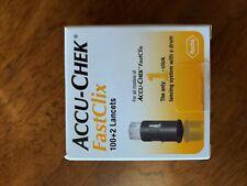 accuchek flastclix lancets 102 ct exp 8/20