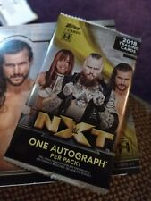 WWE NXT 2018 Topps Unopened Pack