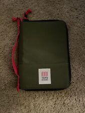 topo designs accessories green travel bag
