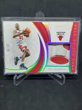 Scottie Pippen Sole Of The Game Patch #d25/25 2018-19 Immaculate Bulls