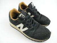 Men's NEW BALANCE '520' Sz 8 US Shoes Black Grey VGCon Leathr | 3+ Extra 10% Off