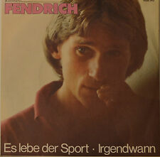 "RAINHARD FENDRICH - ESSO VIVA LA SPORT - IRGENDWANN Single 7"" (H677)"