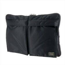 YOSHIDA TANKER DOCUMENT CASE 622-66500 Black With tracking From JP NEW