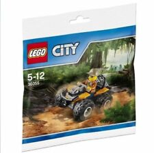 LEGO CITY POLYBAG WITH FEMALE GIRL MINIFIGURE JUNGLE ATV CAR 30355 BUILDING TOY