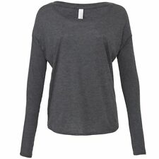 Viscose Long Sleeve Regular Size T-Shirts for Women