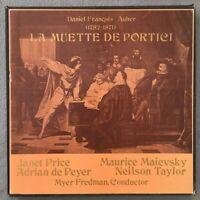 F225 Auber La Muette De Portici Price de Peyer Fredman 3LP MRF-123-S Stereo