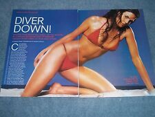 Freedive Champion Actress and Model Mehgan Heaney-Grier Clippings Article
