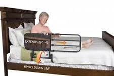 EZ Adjustable/Extendable Bed Safety Rail With Storage Pouch