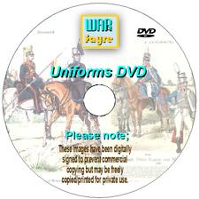 Knotel Plates, over 2180 uniforms, pre Napoleonic, Napoleonic & post Nap on DVD
