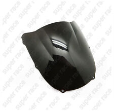 Hi-Q Motocycle Windshield Windscreen For Kawasaki Ninja ZX6R 1998 1999 Black