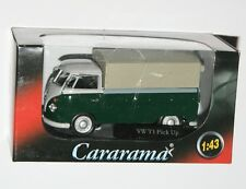 Cararama - VW Volkswagen T1 Covered Pick Up (Green) Model Scale 1:43