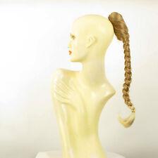 Hairpiece ponytail plait 19.69 long light blond blond copper wick clear 4/27t613